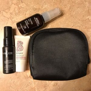 Cosmetic Bag with trio of blowout products